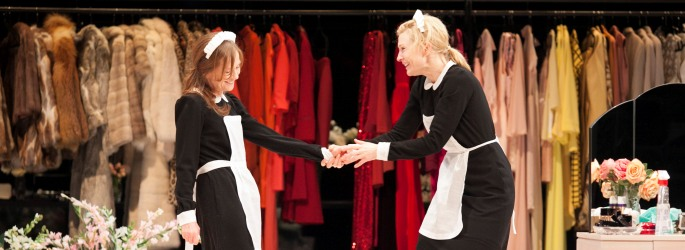 Isabelle Huppert and Cate Blanchett in The Maids, 2013