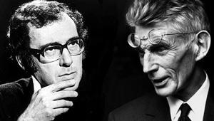 pinter and beckett Escribió un guion, titulado the basement (1966), para una trilogía de películas con contribuciones de samuel beckett, eugène ionesco, y pinter.