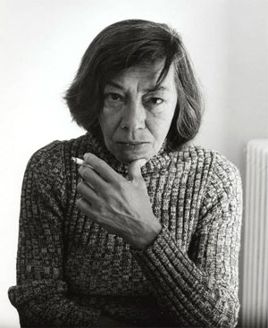 Patricia Highsmith. Photo by Dmitri Kasterine.