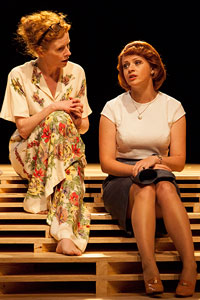Alison Whyte and Sara West in Travelling North (Photo: Brett Boardman)