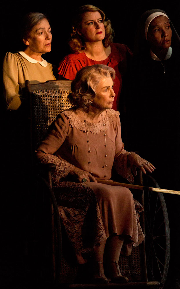 Melita Jurisic, Susan Prior, Robyn Nevin and Paula Arundell in STC's Suddenly Last Summer. Photo: Brett Boardman