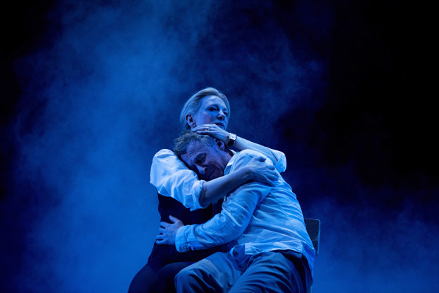 Cate Blanchett and Richard Roxburgh in STC's The Present. Photo by Lisa Tomasetti