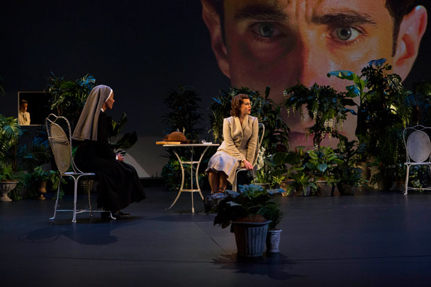 Mark Winter, Paula Arundell and Eryn Jean Norvill in STC's Suddenly Last Summer. Photo: Brett Boardman