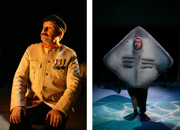 Garry Scale in STC's Revue Sans Frontieres (The Wharf Revue), 2006.  Photo: Tracey Schramm ©