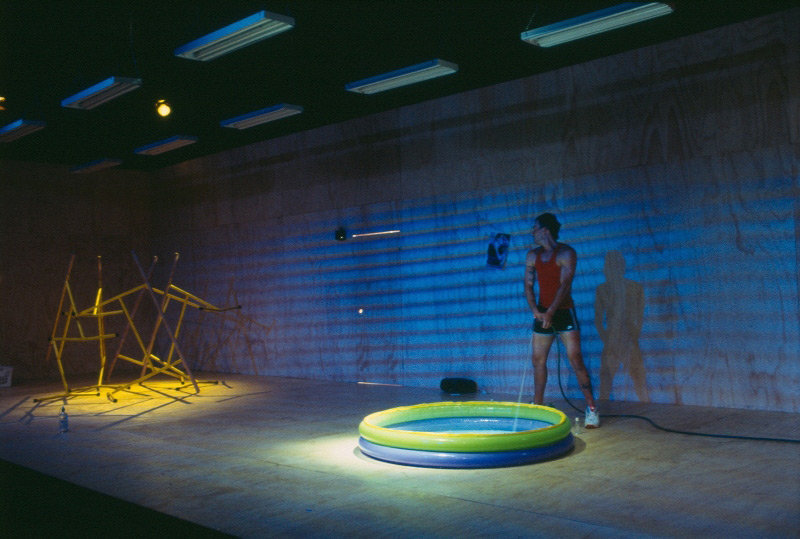 Socratis Otto in STC's Morph, 2003, for Wharf 2 Blueprints.  Photo: Heidrun Lohr ©