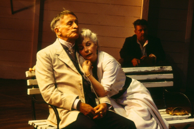 John Gaden, Robyn Nevin and Philip Quast in STC's The Cherry Orchard, 2005.  Photo: Heidrun Lohr ©