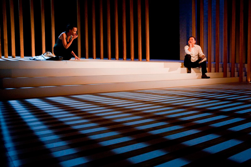 Paula Arundell and Willliam Zappa in STC's Honour, 2010.  Photo:  Brett Boardman ©