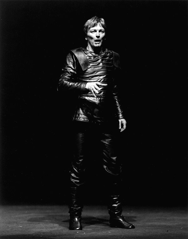 John Bell in STC's Macbeth, 1982.  Photo: Brett Hilder