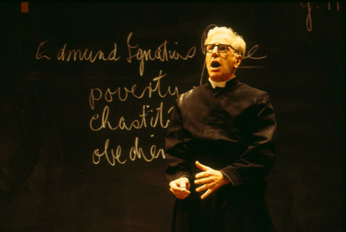 Peter Carroll in STC's The Christian Brothers, 2001.  Photo:  Tracey Schramm