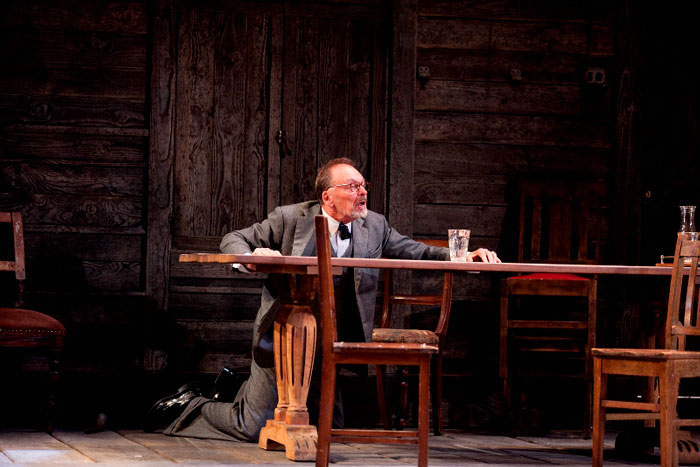John Bell in STC's Uncle Vanya, 2010.  Photo: Lisa Tomasetti