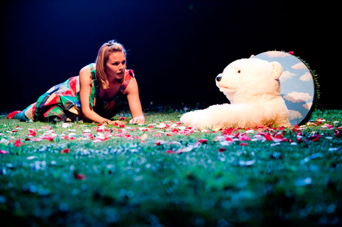 Justine Clarke in STC's The Wonderful World of Dissocia, 2009 (Photo: Brett Boardman)