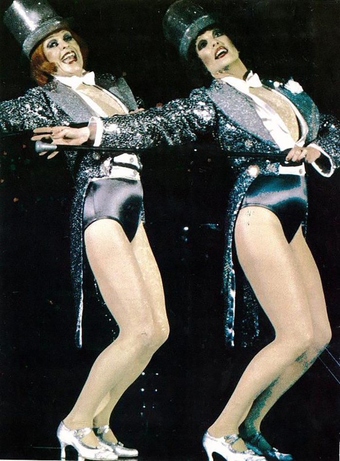 Geraldine Turner and Nancye Hayes in STC's Chicago, 1981 (Photo: Brett Hilder)