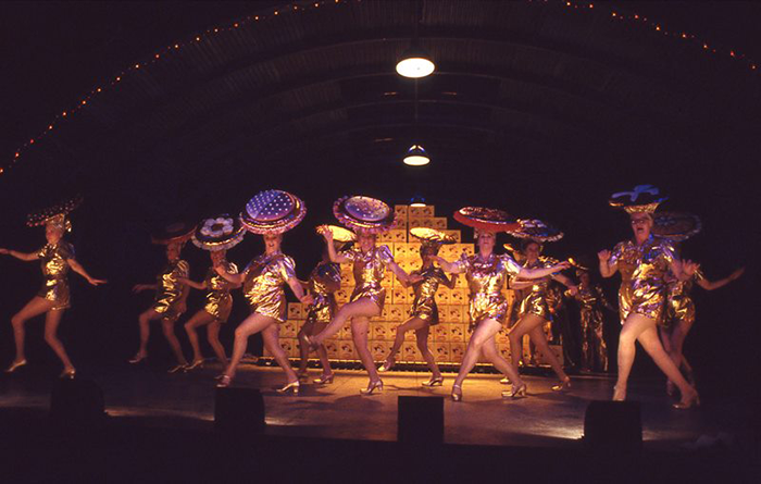 Cast of STC's Dinkum Assorted, 1988 (Photo: Branco Gaica)