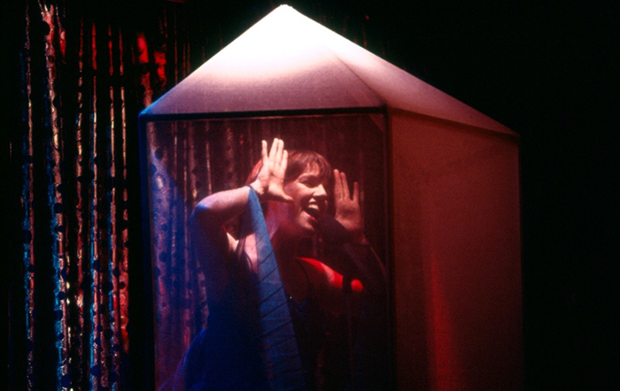 Angela Toohey in STC's The Rise and Fall of Little Voice, 1993 (Photo: Robert McFarlane)
