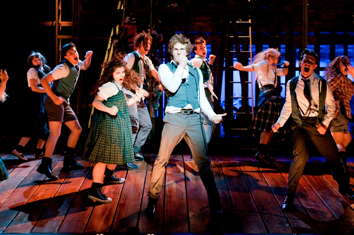 Cast of STC's Spring Awakening – A New Musical, 2010 (Photo: Brett Boardman)