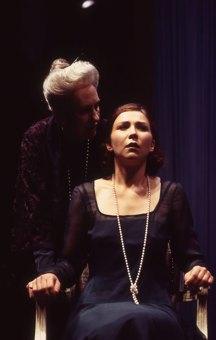 Ruth Cracknell and Anita Hegh in Three Tall Women, 1995, (Photo: Tracey Schramm)