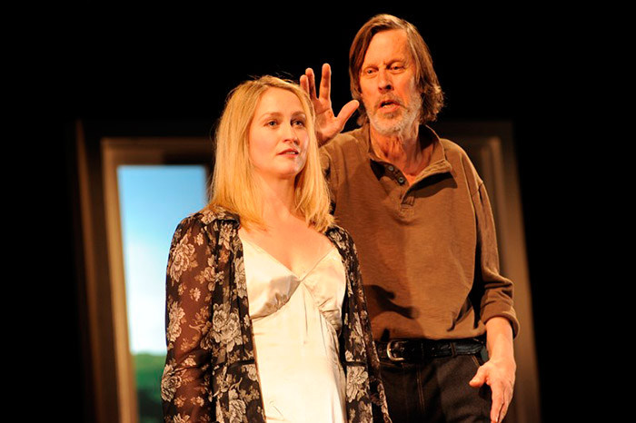 Helen Thomson and Bruce Spence in STC's Under Milk Wood, 2012 (Photo:  Heidrun Lohr)