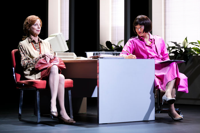 Heather Mitchell and Michelle Lim Davidson in Cloud Nine at STC. Photo: Brett Boardman