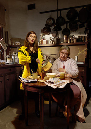 Noni Hazlehurst and Yael Stone